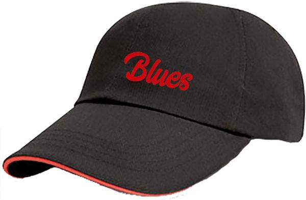 Baseball-Cap BLUES (bestickt)