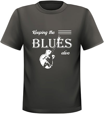 T- Shirt KEEPING THE BLUES ALIVE